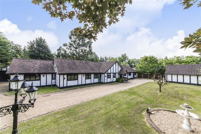 Thumbnail Bungalow for sale in Black Lake Close, Egham
