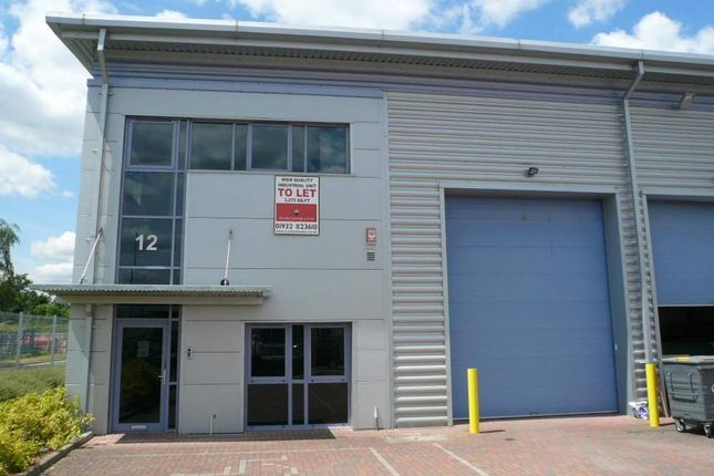 Thumbnail Light industrial to let in Unit 12, Trade City, Weybridge