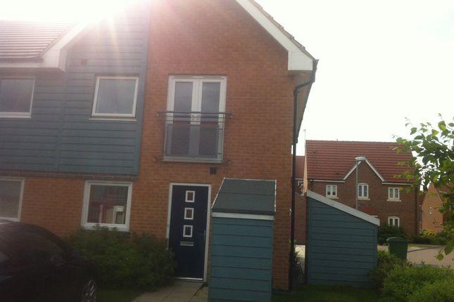 Thumbnail Flat to rent in Pickering Grange, Brough