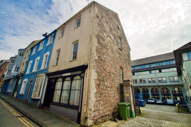 Thumbnail End terrace house for sale in High Street, Caernarfon