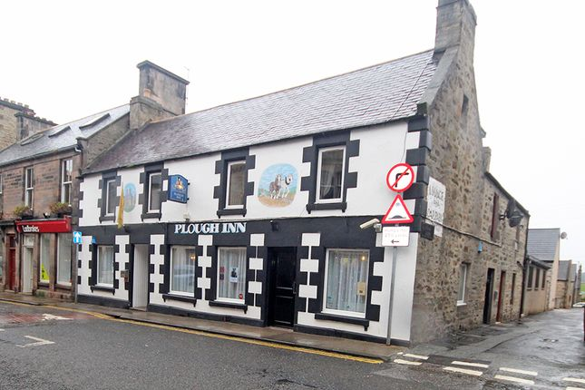 Thumbnail Leisure/hospitality for sale in The Plough Inn, Mid Street, Keith, Moray