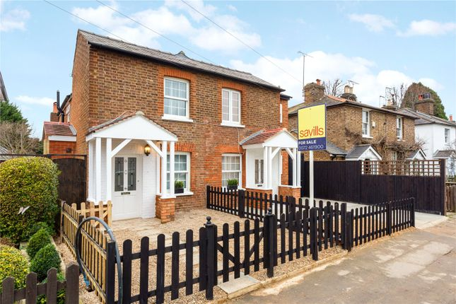 Thumbnail Semi-detached house for sale in Winterdown Road, Esher, Surrey