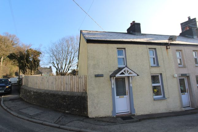 Thumbnail End terrace house for sale in Cwrtnewydd, Llanybydder