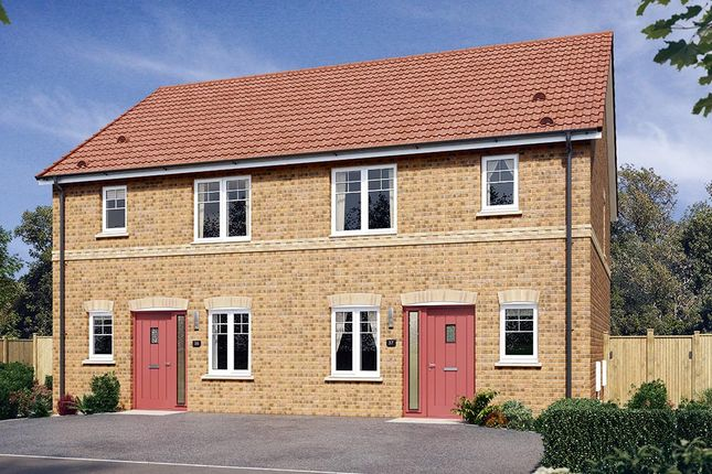 """Thumbnail Semi-detached house for sale in """"The Hamilton"""" at Cobblers Lane, Pontefract"""