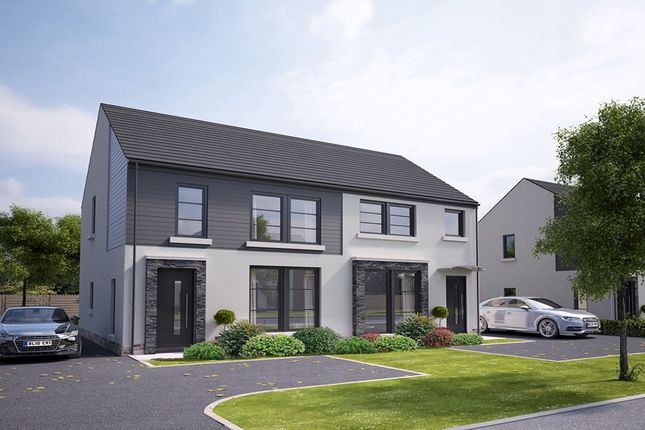 Thumbnail Semi-detached house for sale in Hilltops, Magheralave Road, Lisburn