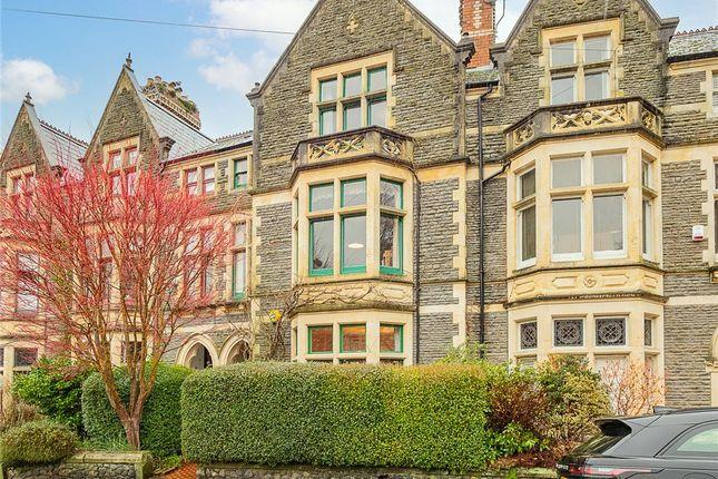 Thumbnail Terraced house for sale in Plasturton Gardens, Pontcanna, Cardiff