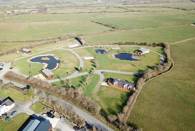 Thumbnail Lodge for sale in Llanon