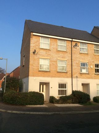 Thumbnail End terrace house to rent in Salmet Close, Ipswich