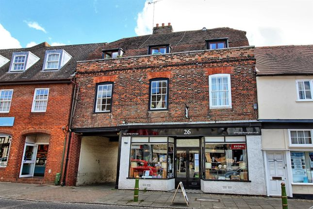 Thumbnail Flat for sale in High Street, Buntingford