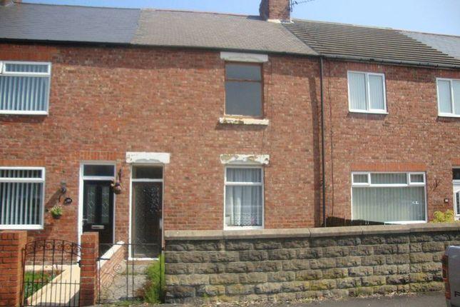 Thumbnail Terraced house for sale in Milburn Road, Ashington