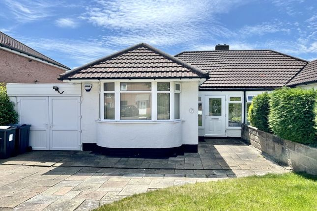 Thumbnail Bungalow for sale in Galloway Avenue, Birmingham
