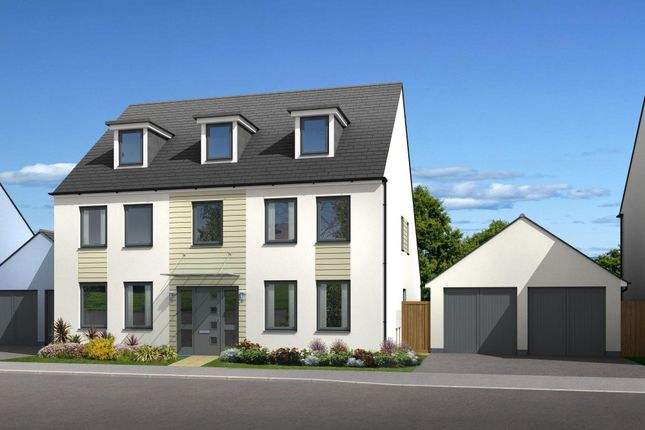 "Thumbnail Detached house for sale in ""Balshaw"" at Church Close, Ogmore-By-Sea, Bridgend"