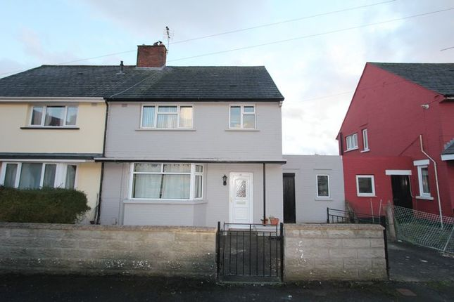 Thumbnail Semi-detached house for sale in Margaret Avenue, Barry