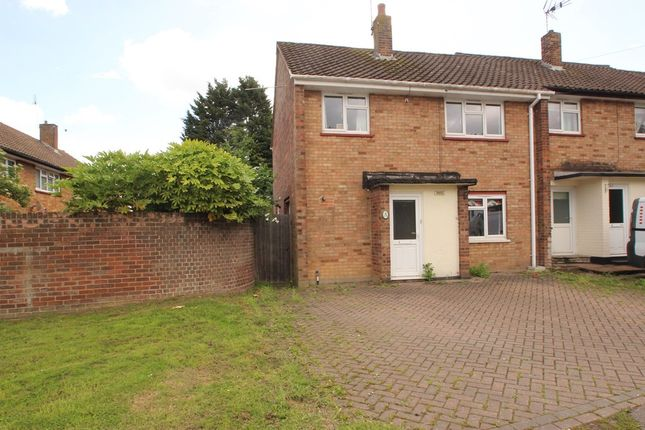 Thumbnail End terrace house for sale in Queensmere, Benfleet