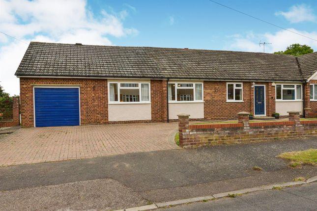 Thumbnail Semi-detached bungalow for sale in The Crescent, Haversham, Milton Keynes