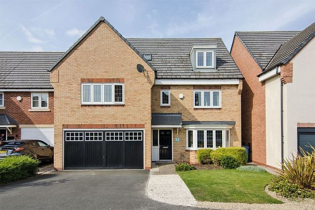 Thumbnail Detached house for sale in The Hollies, Cheslyn Hay, Walsall