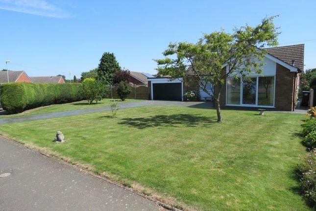 Thumbnail Detached bungalow for sale in Highfields, Nettleham, Lincoln