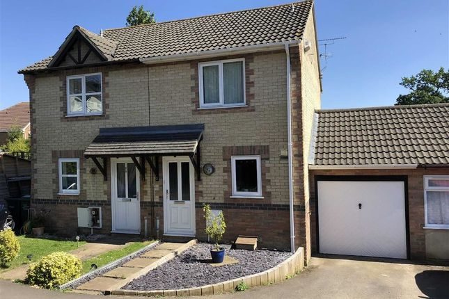 Thumbnail Semi-detached house for sale in Swayne Close, Pewsham, Chippenham, Wiltshire