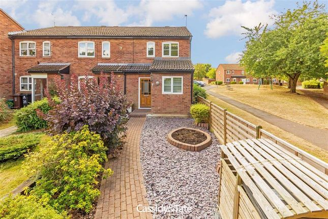 Thumbnail End terrace house to rent in Runcie Close, St Albans, Hertfordshire
