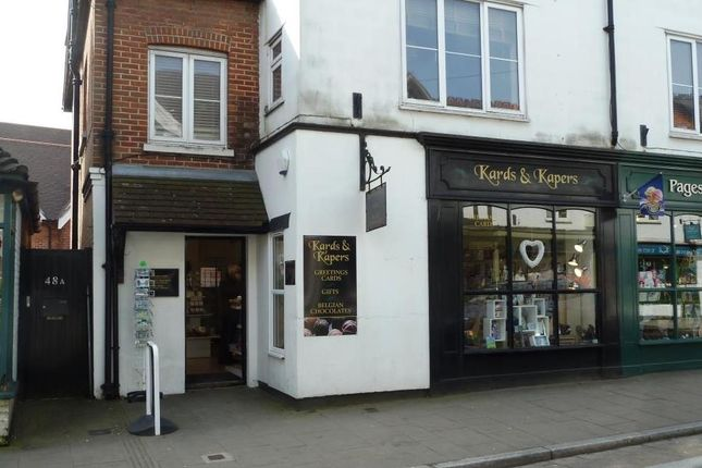 Thumbnail Retail premises to let in 46 High Street, Lyndhurst