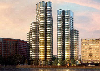 Thumbnail Flat for sale in The Corniche, Lambeth, London