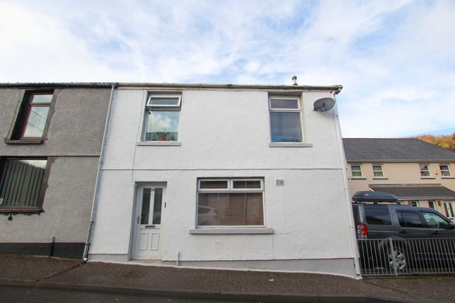 Thumbnail End terrace house for sale in Fforchaman Road, Cwmaman, Aberdare