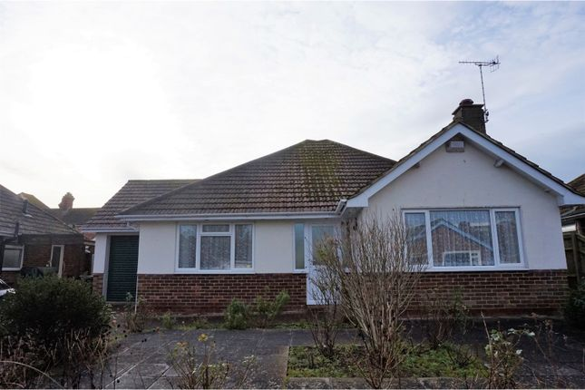 Thumbnail Detached bungalow for sale in Sutherland Close, Bexhill-On-Sea