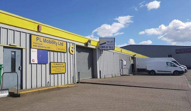 Thumbnail Light industrial to let in Lochlands Industrial Estate, Larbert