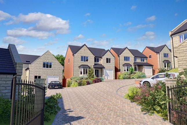 Thumbnail Detached house for sale in Tarry Fields Court, Roes Lane, Crich, Matlock, Derbyshire