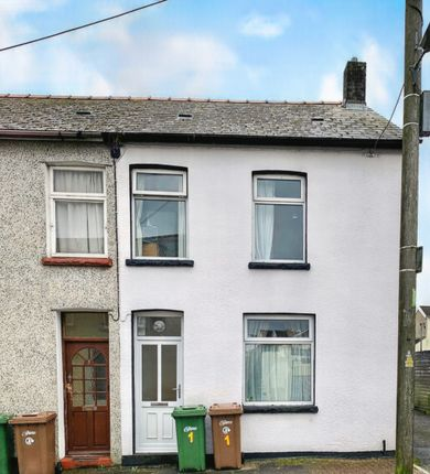 3 bed end terrace house for sale in Donald Street, Nelson, Treharris CF46