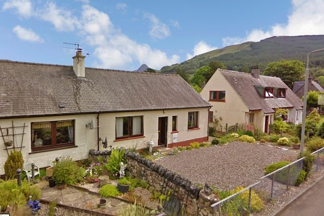 Thumbnail Semi-detached bungalow for sale in Maccoll Terrace, Ballachulish, Argyllshire