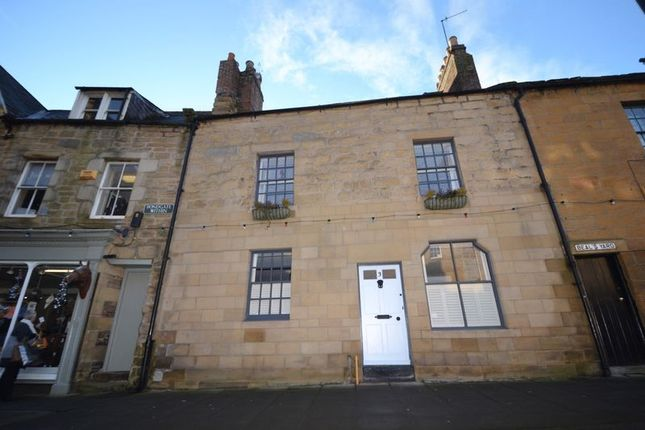 Thumbnail Terraced house for sale in Bondgate Within, Alnwick
