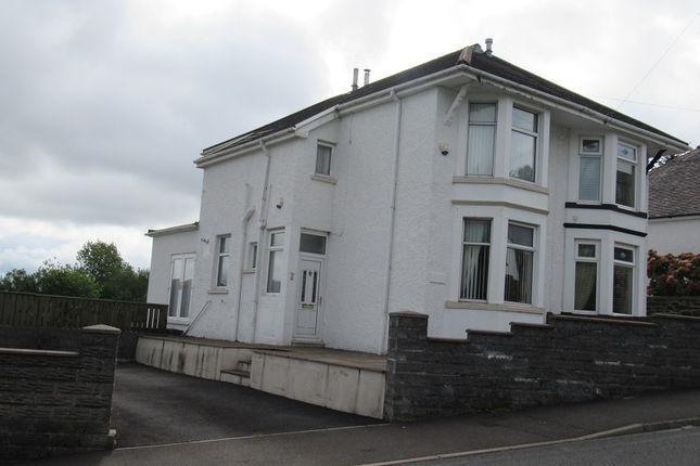 Thumbnail Semi-detached house for sale in School Road, Maesteg, Mid Glamorgan.