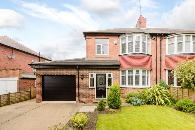 Thumbnail Semi-detached house for sale in Studley Villas, Newcastle Upon Tyne, Tyne And Wear