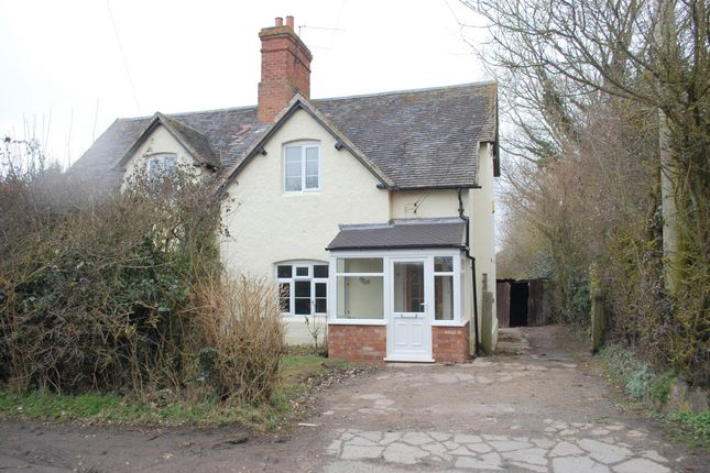 Thumbnail Semi-detached house for sale in Alcester Heath, Alcester