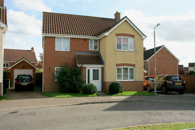 Thumbnail Detached house for sale in Lomond Road, Attleborough