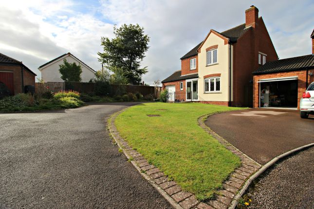 Thumbnail Detached house for sale in Parsons Croft, Hildersley, Ross-On-Wye