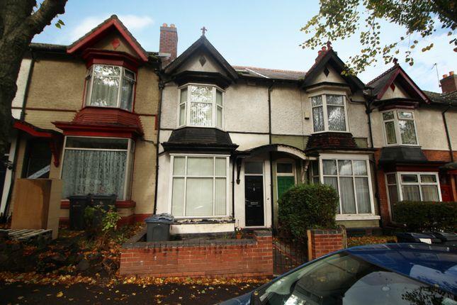 Thumbnail Terraced bungalow for sale in Frances Road, Birmingham, West Midlands