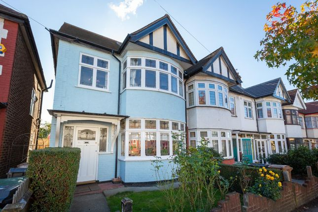 Thumbnail End terrace house for sale in Greenway Avenue, London