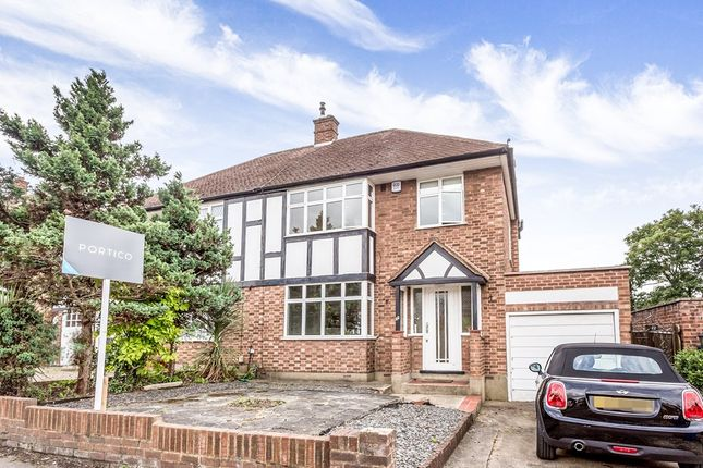 Thumbnail Semi-detached house to rent in Chigwell Park Drive, Chigwell