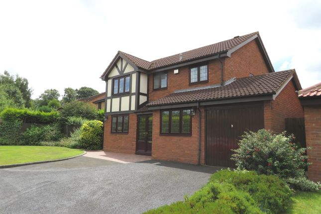 Thumbnail Detached house for sale in Turnberry Road, Bloxwich, Walsall