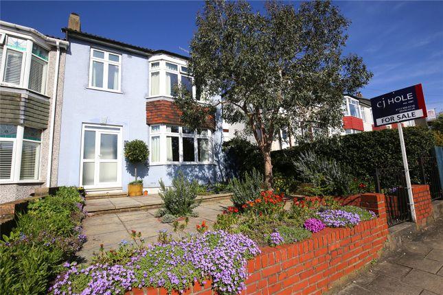Thumbnail End terrace house for sale in Eastfield Road, Westbury-On-Trym, Bristol