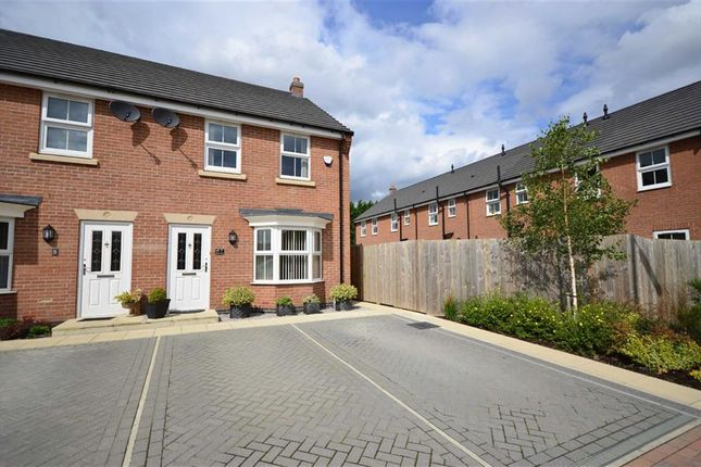 Thumbnail End terrace house for sale in Wentworth Close, Gilberdyke, Goole