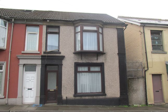 Thumbnail End terrace house for sale in Park Place, Merthyr Tydfil