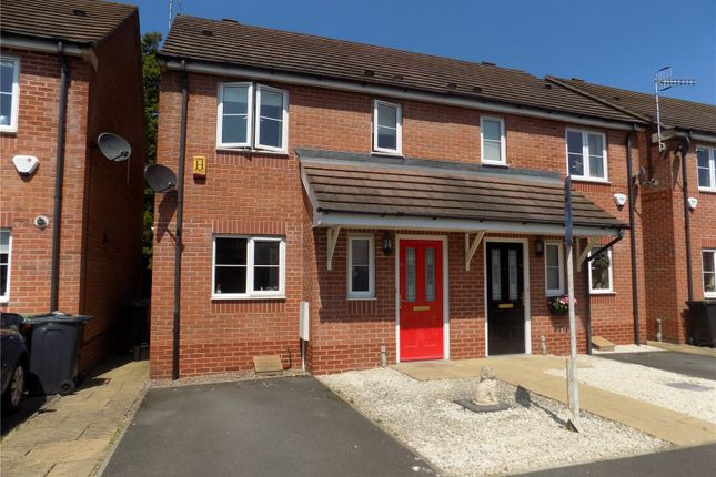 Thumbnail Semi-detached house for sale in Williamson Gardens, Langley Mill, Nottingham, Derbyshire