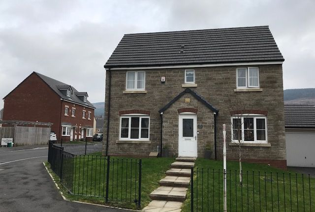 Thumbnail Detached house for sale in Tir Founder Fields, Aberdare