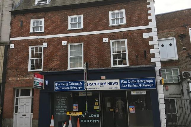 Thumbnail Retail premises to let in 17 Market Place, Grantham, Lincolnshire