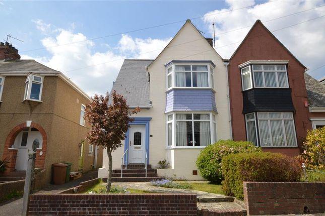 Thumbnail Semi-detached house for sale in Vine Gardens, Plymouth, Devon