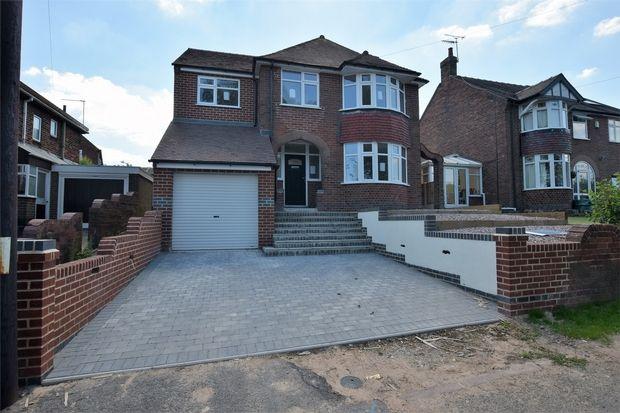 Thumbnail Detached house for sale in Marsh Lane, Belper, Derbyshire