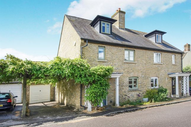 Thumbnail Semi-detached house for sale in Folly Lane, Blandford St. Mary, Blandford Forum